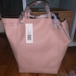 French connection unlined drawstring tote